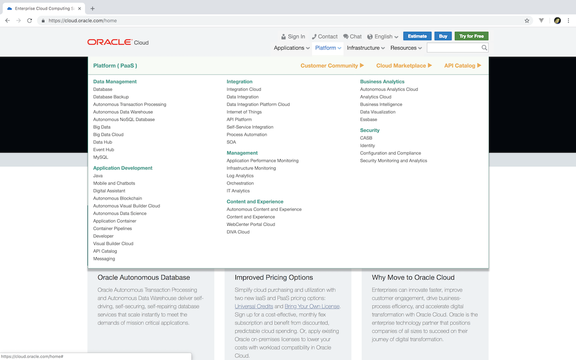 lbs-oracle-cloud-product-page