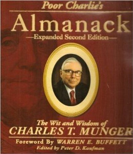 Poor Charlie's Almanack book cover on the LBS website